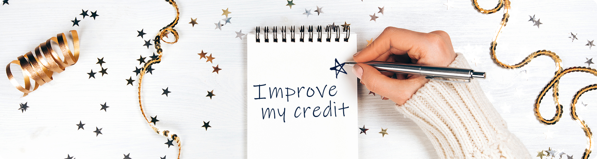 New Years Improve Your Credit